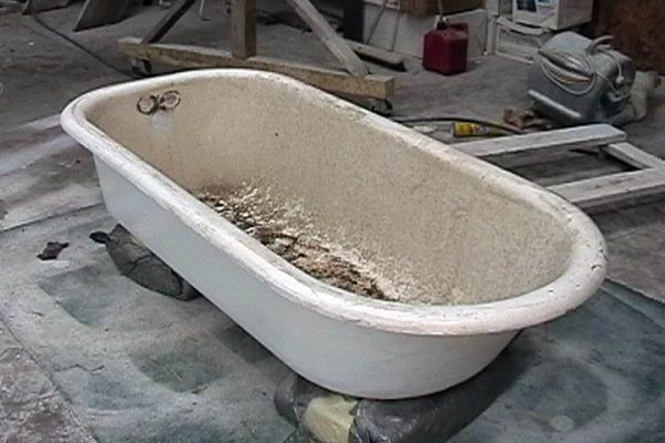 tubz plus-bathtub-antique tub repair-before and after-1A